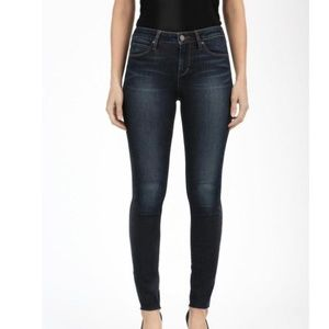 Articles of Society Sarah Skinny Cut Off Hem Jeans